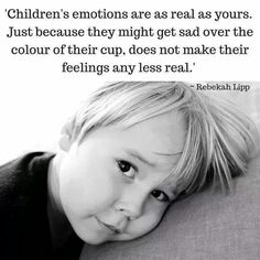 They are so real, always remember. For more family resources visit http://www.ifamilykc.com!