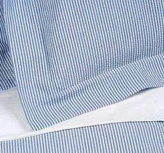 Seersucker sheets: Look so fresh