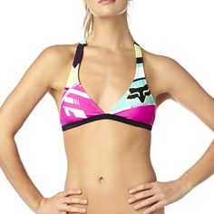 Fox Racing Women's Divizion Fixed Bikini Halter Top