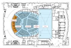 main level floor plan< Back to Ellie Caulkins Opera House at the Quigg Newton Auditorium / Semple Brown Design