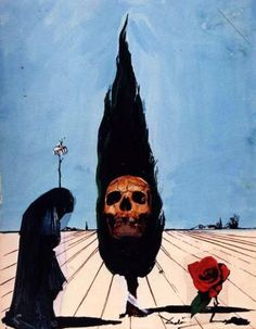 Death Card by Salvador Dali