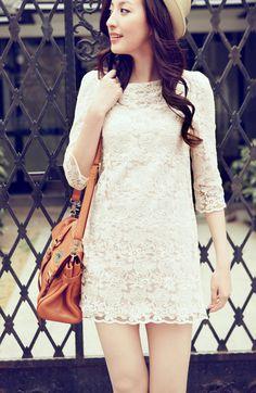 perfect lace dress <3