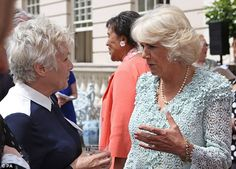 The Duchess of Cornwall hosts a reception for survivors of domestic abuse, those working in the field & charities helping to raise awareness, Clarence House, London, Royal Prince, Prince Of Wales, Julie Walters, Prince Charles And Camilla, Clarence House, Duchess Of Cornwall, Gray Hair, Elizabeth Ii, British Royals