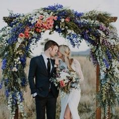 """""""Could this wedding arbor be any more beautiful (Dream big right?!)"""
