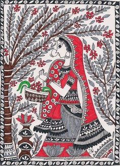madhubani painting peacock - Google Search