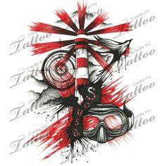 Marketplace Tattoo Polka Trash #12319 | CreateMyTattoo.com