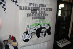 """Photo 3 of 66: Monster Trucks / Birthday """"A Monster(Truck) of a Party""""   Catch My Party"""
