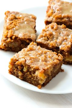 Moist, buttery cinnamon apple crumb cake piled high with a sweet cinnamon crumb topping and a warm vanilla glaze drizzled over top. Ohhh my goodness I am so excited to share this incredible recipe with you today. These little sqaures of heaven are some of the best things that have come out of our kitchen! …