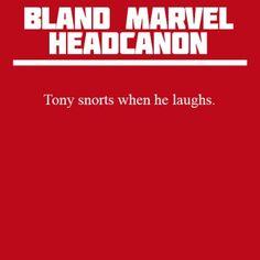 Tony and I share a common trait <3
