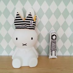 Miffy lamp in Teo and Olivia's room