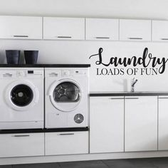 48 functional and stylish laundry room design ideas to inspire 13 - Laundry Room Pedestal, Farmhouse Laundry Room, Farmhouse Decor, Small Laundry Rooms, Laundry Room Design, Custom Decals, Vinyl Decals, Car Decal, Laundy Room