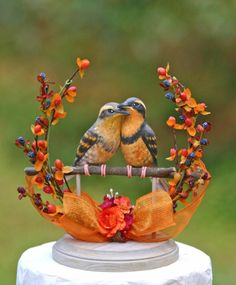 This may be my favorite topper so far in my West Coast Birds collection. The Varied Thrush song echoes all over the coastal forests, but despite their