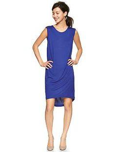Fluid circle-hem dress   Gap Color: spectrum blue $59.95  (Now $41.99)