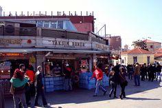 Kebab shops, Taksim Square,Istanbul
