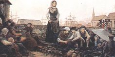 A tragedy ...  Acadian prisoners at a seaport in England, awaiting escort to a concentration camp, by Robert Dafford.