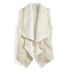 Stitch Fix Monthly Must-Haves: Invest in a shearling vest! Pair this cozy layer over your go-to cold weather knits, jeans and booties.
