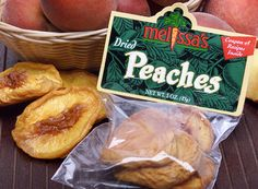 Melissa's Dried Peaches - 3 Packs for $10