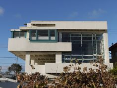 Designed by architect Rudolph Schindler and completed in 1926, the Lovell Beach House is one of the earliest example of International Style residential architecture in the United States.