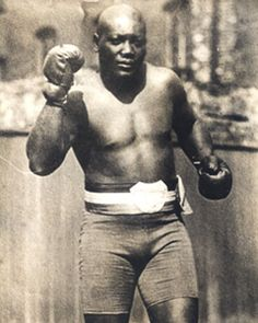 Jack Johnson was the first black heavyweight champion of the world! #history
