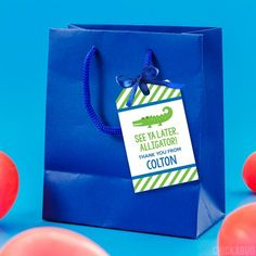 Party favor tags are a customer favorite. They're a must-have for every party! You can... Alligator Party, Party Favor Tags, Party Favors, Make Your Own, Prints, Gator Party, Princess Party Favors, Wedding Keepsakes, Party Gifts