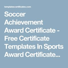 Free Award Templates Preschool Completion Certificate  Free Certificate Templates In .