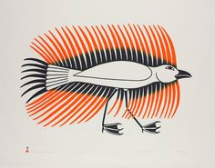 Kenojuak Ashevak, CC (October 3, 1927 – January 8, 2013) was regarded as one of the most notable Canadian pioneers of modern Inuit art.