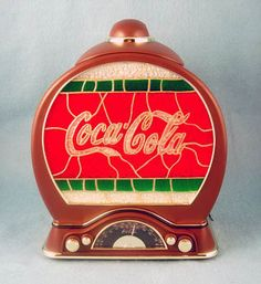 cookie jars collectibles | Cookie Jar Collecting -- Coca-Cola Radio Cookie Jar -- Coca Cola ...