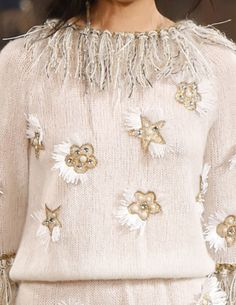 Decorialab - Trend Report - Blanket Skirts  and Miles of Fringe - Chanel - Pre Fall 2014