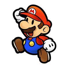 Quem segue o bloco, se caracteriza como personagens  do game como Luigi,  Princesa Peach, Toad e Yoshi, além, claro, do próprio Mario.