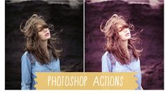 photoshop actions!