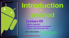 Android Lecture 01|  Introduction to Android and Android Studio | 2019 Android Application Development, App Development, Android Studio, Build An App, Made Video, Online Courses, Building Apps, Knowledge