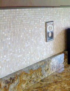 Mother of Pearl Kitchen Backsplash Mosaic Install Design Ideas www ...
