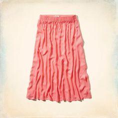 San Onofre Midi Skirt