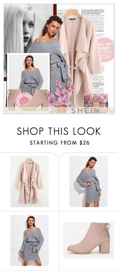"""SheIn 1/ 10"" by emina-095 ❤ liked on Polyvore featuring GE, WithChic, shop, woman, polyvoreeditorial and shein"