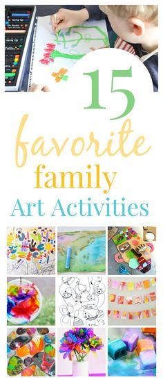 15 Favorite Art Activities for Children