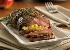 Roasted Leg of Lamb Stuffed with Apple and Rosemary | Recipes | Eat Well | Best Health