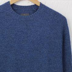 Peter Werth Wilk Crew Neck Sweater (Ocean) #peter #werth #knitwear #peterwerth #menswear #newentrystore