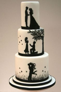 66 Awesome Simple Wedding Cake Ideas Inspirations - Hochzeitstorte I… - Wedding Cakes - Torten Elegant Wedding Cakes, Beautiful Wedding Cakes, Wedding Cake Designs, Wedding Cake Toppers, Beautiful Cakes, Amazing Cakes, Rustic Wedding, Cake Wedding, Trendy Wedding