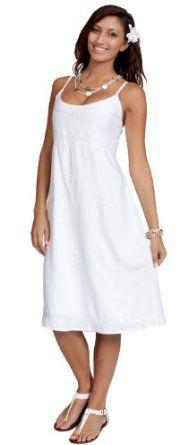 White summer sundress - 1 World Sarongs