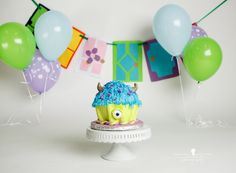 The A kids and R's cake smash! – Santa Rosa Children's photographer » Jeneanne Ericsson Photography monsters inc. cake smash