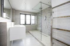 Contemporary White Bathroom for a Grade II Listed Home Contemporary White Bathrooms, Washroom, Restoration, Home And Family, Bathtub, Barn, Farmhouse, Architecture, Design