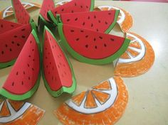 waterlemon craft  |   Crafts and Worksheets for Preschool,Toddler and Kindergarten