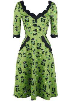 Katnis - Medium-lengte jurk van Voodoo Vixen