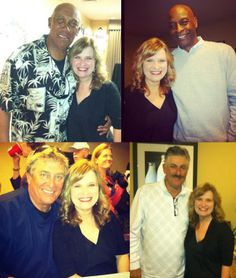 Celebrity Golf Outing Dinner with Fergie Jenkins Foundation! Fergie Jenkins, Willie Wilson, Pete LaCock and Rollie Fingers
