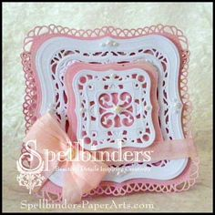 Lovely Linda's Craft Central!!: Spellbinders Diamond Anniversary: Sneak Peek and Giveaway Day 5