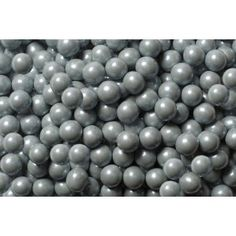 SweetWorks Candy Beads - Chocolate - Pearl - Silver - 100 g Golda's Kitchen