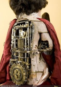 The Writer Automaton - 240 year old doll that can write, a clockwork creation by Pierre Jaquet-Droz, a Swiss watchmaker. (more info in comments) Source: https://imgur.com/M3SnOFe