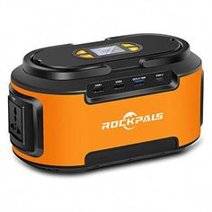 Rockpals Portable Power Station, Gas Free Generator, 60000 Lithium Power Supply with AC Outlet, DC Ports, Solar Generator for CPAP Outdoors Camping Travel Fishing Hunt Solar Energy Panels, Best Solar Panels, Solar Energy System, Solar Generator, Portable Generator, Advantages Of Solar Energy, Car Vacuum, Solar Roof, Solar Projects