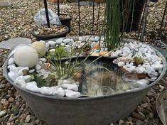 Sie kauft sich für nur ein paar Euro einen alten Zinkkübel... was Sie damit tut, sieht im Garten einfach fantastisch aus! - DIY Bastelideen