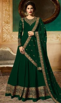 VJV Fashions presenting Amyra Dastur Blue Color Floor Length Anarkali Suit shop from our biggest collection of designer salwar suit, party wear salwar suit Anarkali Gown, Anarkali Suits, Lehenga, Punjabi Suits, Abaya Fashion, Indian Fashion, Fashion Dresses, Women's Fashion, Fashion Shirts